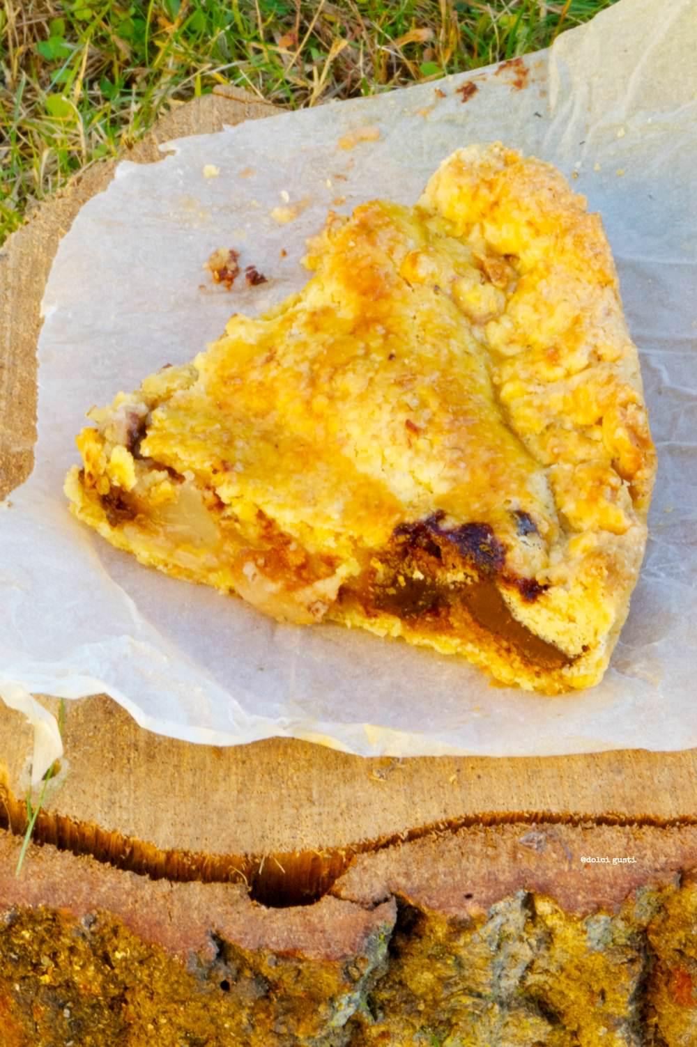 tarte pere e cioccolato ricetta