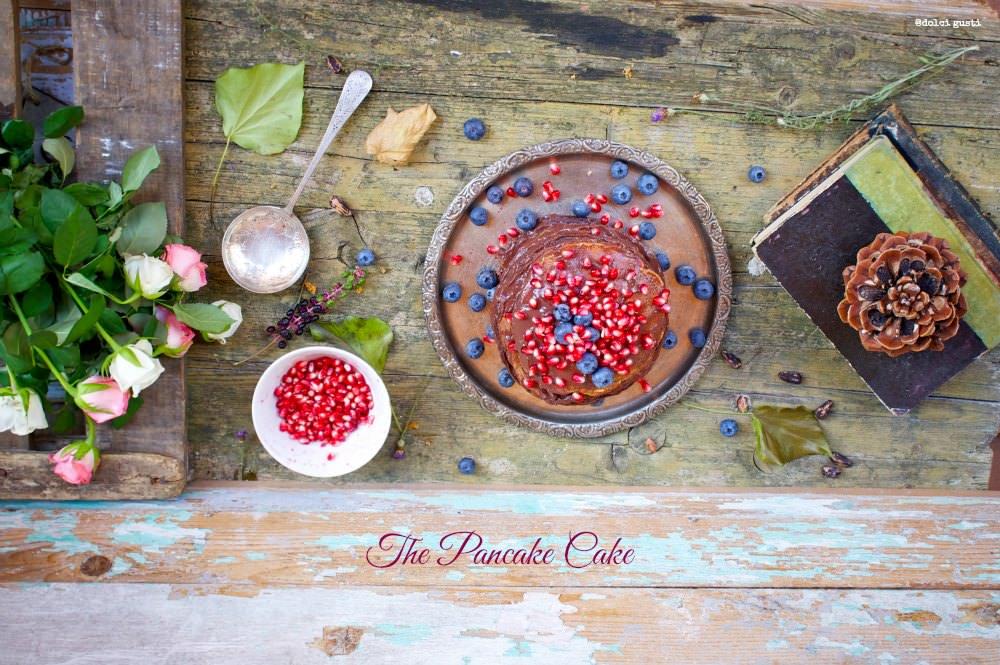 the pancake cake